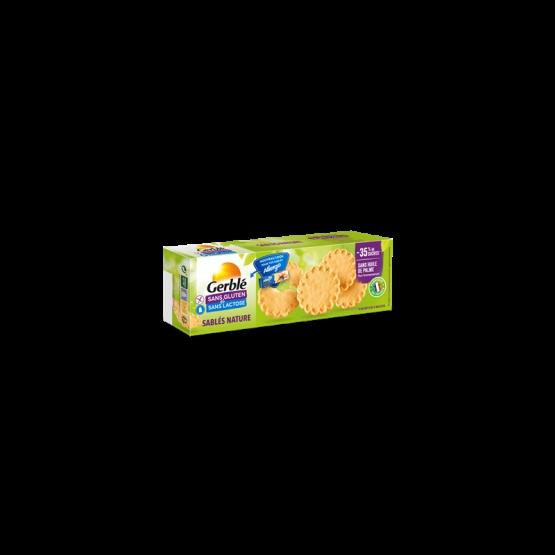 Gerble Fara Gluten & Lactoza Biscuiti Natur 120g