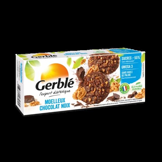 Gerble Expert Dietetic Prajitura Ciocolata-nuci 138g