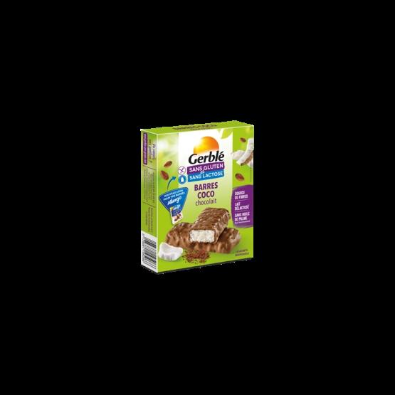 Gerble Fara Gluten & Lactoza Baton Ciocolata-cocos 100g