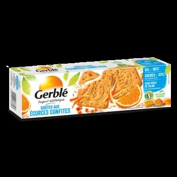 Gerble Expert Dietetic Gustare Coji Citrice Confiate, 360 G