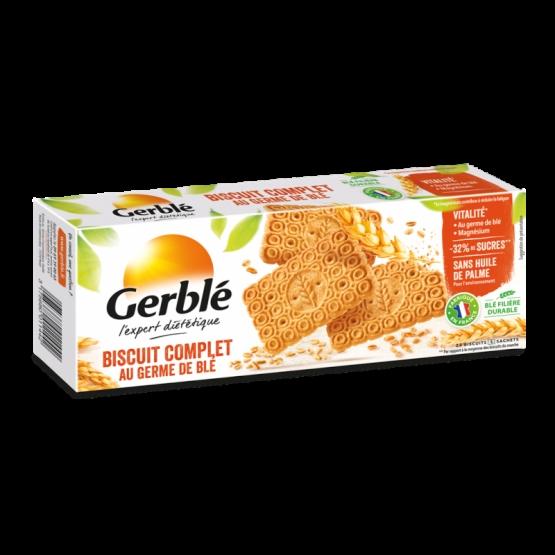 Gerblé Biscuiţi Integrali Cu Germeni De Grȃu, 210g