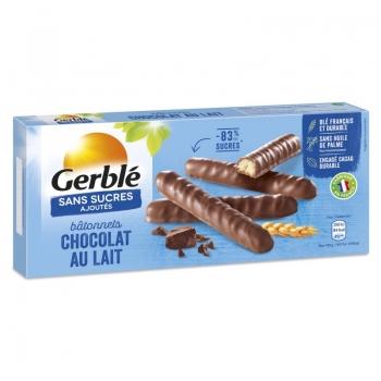 Gerble Glucoregul Batonase Cu Ciocolata Cu Lapte 125 G
