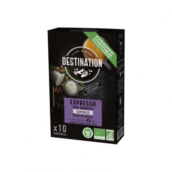 Eco Destination Capsule Espresso Arabica 55g