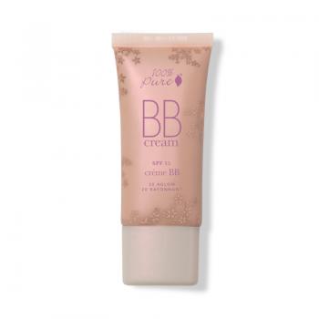 BB Cream cu FPS 15, nuanta Aglow (20) - 100 Percent Pure Cosmetics