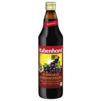 Nectar organic COACĂZE NEGRE (Schwarze Johannisbeere) - 750 ml