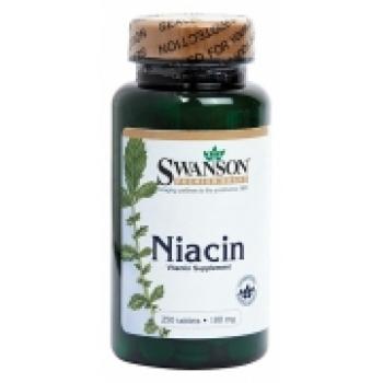 Vitamina B3 (niacină) 100mg - 250 comprimate