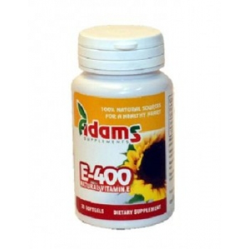 Vitamina E400 naturala 30 capsule