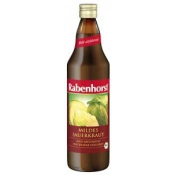 Suc organic Sauerkraut (Varză fermentată lactic) - 750 ml