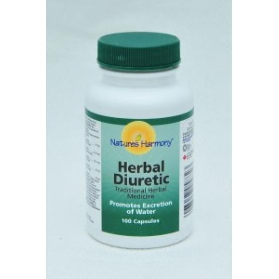 Herbal Diuretic - Curata si detoxifica sistemul urinar - 100cps