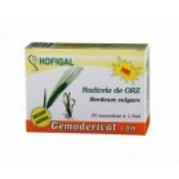 Radicele de orz - Gemoderivat - 30 monodoze - Hofigal