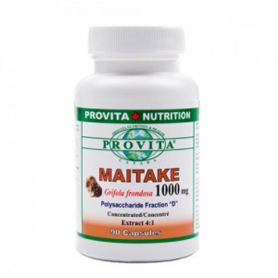 Maitake forte - imunostimulator, 1000 mg-90 capsule / Provita