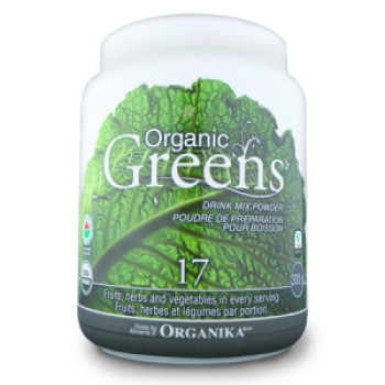 ORGANIC GREENS drink mix powder - 300 grame / Organika