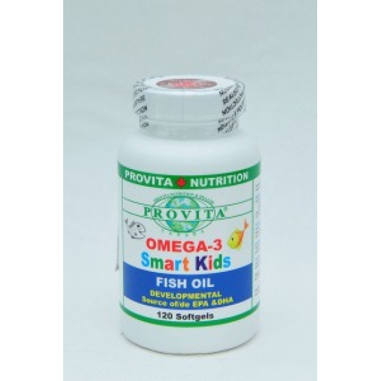Omega 3 - Smart Kids - 250 mg - 120 cps / Provita