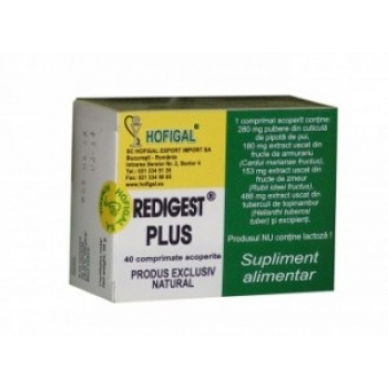 Redigest Plus 40 comprimate