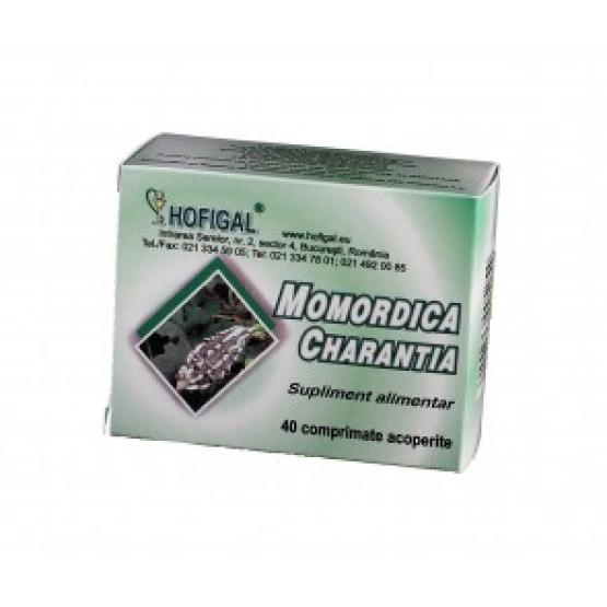 Momordica Charantia 40 comprimate