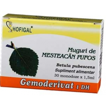 Gemoderivat din Muguri de mesteacan pufos - 30 monodoze