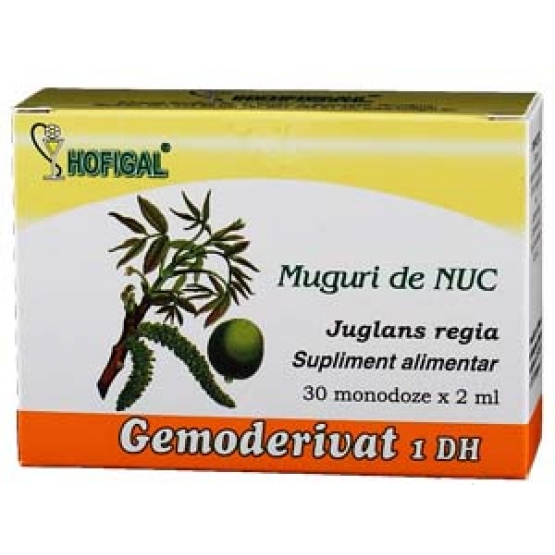 Gemoderivat din Muguri de nuc - 30 monodoze