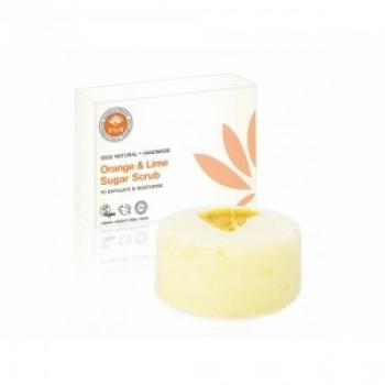 Scrub de corp pe baza de zahar cu portocala si lamaie 100 g / PHB