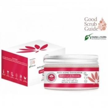 Exfoliant anti-aging cu jojoba, galbanum si baobab pentru toate tipurile de ten, 100 ml / PHB