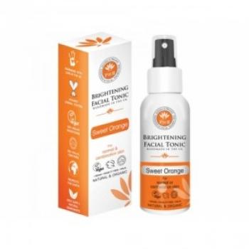 Tonic facial iluminator cu portocale organice pentru ten normal si mixt 100 ml / PHB