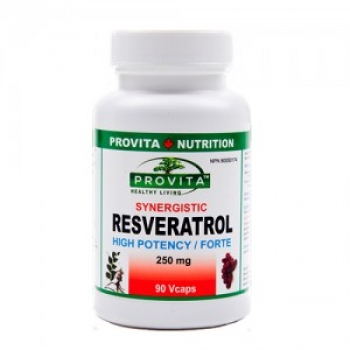 RESVERATROL Forte Synergistic 250 mg/90 Vcaps