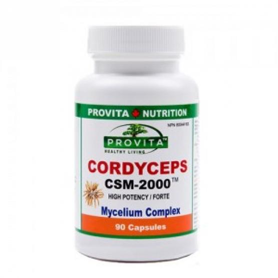 CORDYCEPS SINENSIS Forte CSM-2000mg/90 Cap