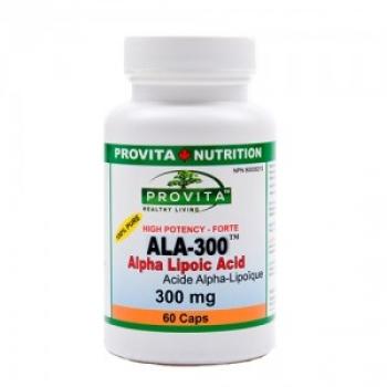 ALA 300 - Acid Alpha Lipoc Forte - Antioxidant, hepatoprotector / Provita Nutrition