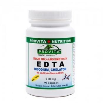 EDTA Disodium Chelate Biodisponibil Gastro-rezistent 90 tablete