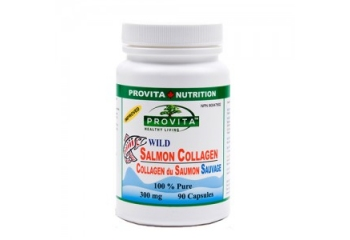 Colagen din somon salbatic 300mg - 90 cps