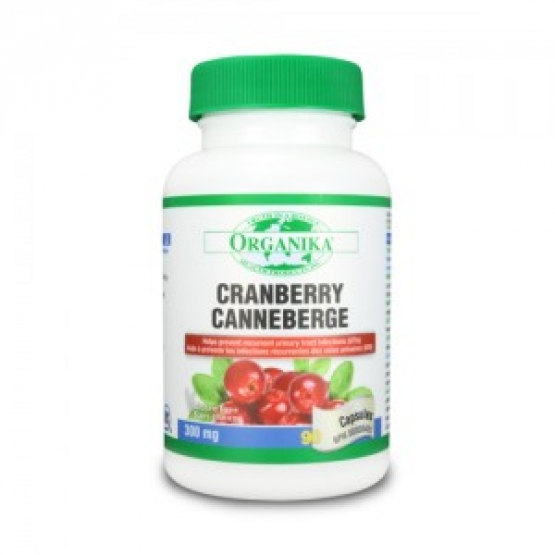 Extract concentrat de Cranberry - 300mg/90 cps.