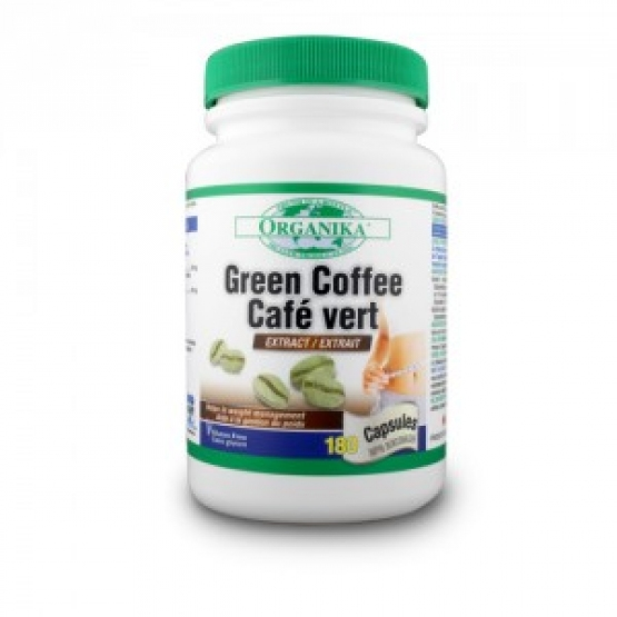 Green Coffee - Extract cafea verde -180 cps