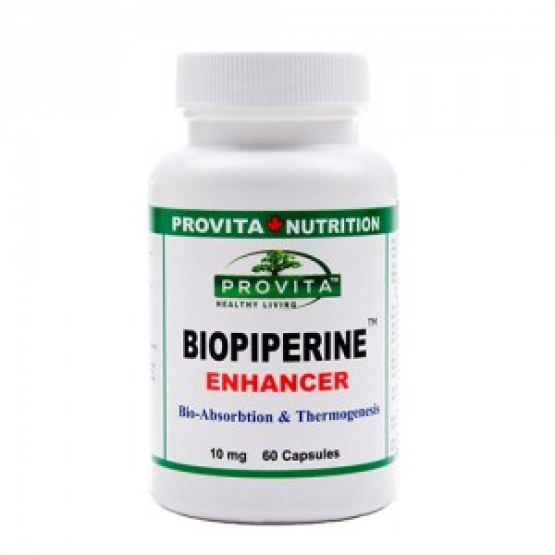 BIOPERINA (Biopiperina) - Potentator bio - 60 cps