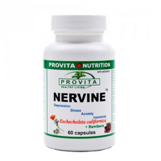 Nervine - pentru stres, insomnie, anxietate - Provita