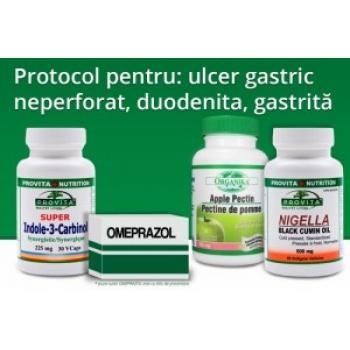 Protocol pentru: Ulcer Gastric Neperforat, Duodenita, Gastrita / PROVITA