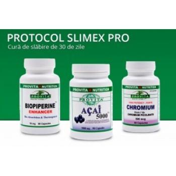 Protocol Slimex-Pro - Cura de slabire 30 zile / Provita