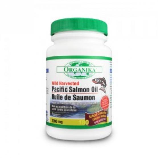 OMEGA 3 - ULEI DE SOMON SALBATIC DE PACIFIC 180 gelule - 1000mg / Provita