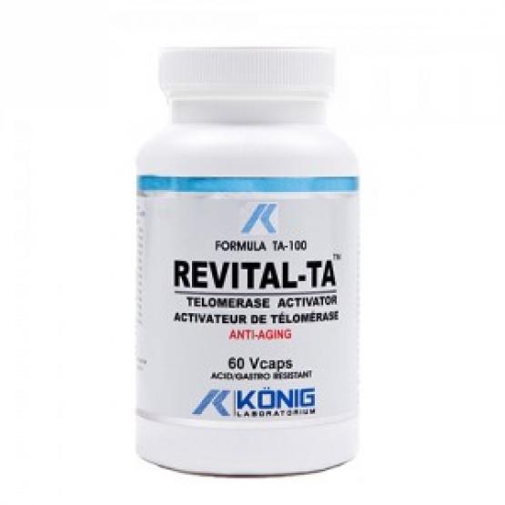 REVITAL-TA Activator Telomeraza Anti-Aging 60 caps