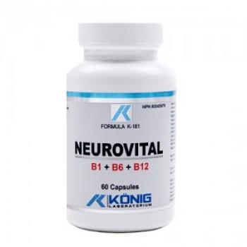 NEUROVITAL B1 + B6 + B12, 60 capsule / KONIG Nutrition Laboratorium