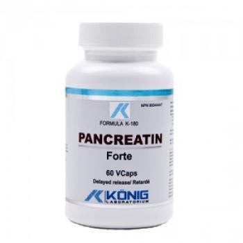 Pancreatina Forte - 60 capsule / KRONIG