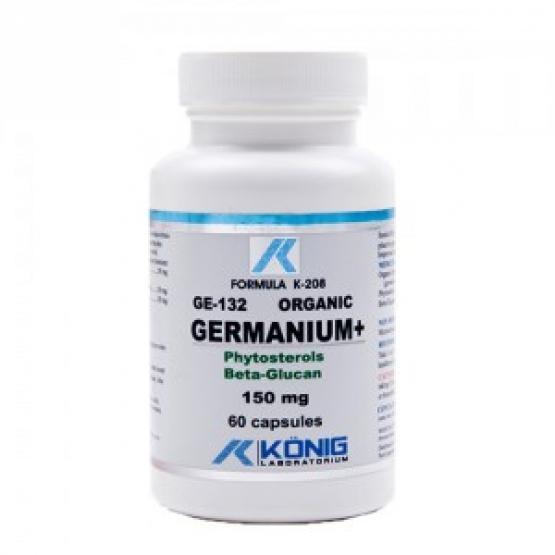 GERMANIU ORGANIC GE-132 Ultra-pur 100 mg - 60 caps