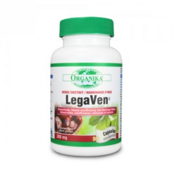 LegaVen (90 capsule) - Vene varicoase si hemoroizi - 300mg - 90cps
