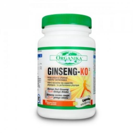 GINSENG-KO 90 capsule: Stimulant memorie si energizant - 90 cps