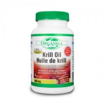 Krill Oil - Ulei de Crevete Krill Forte - 500 mg - 90 cps