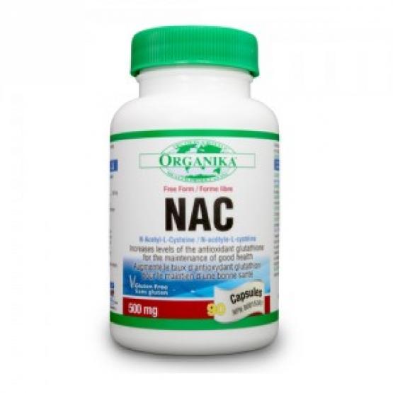 N-Acetil-Cisteina (NAC) 500mg/90 caps