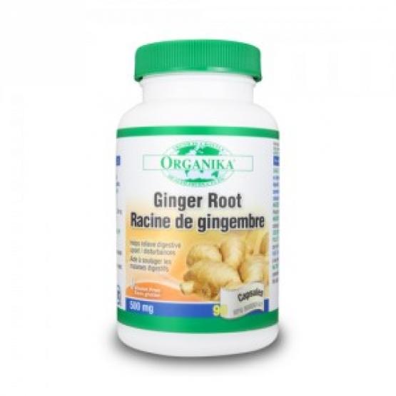 Ginger - Radacina de Ghimbir - 90 capsule