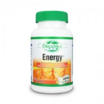 ENER*G (Energizant) 500 mg/60 Capsule Ginseng+Guarana