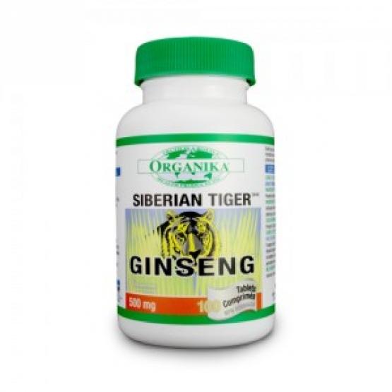 "Ginseng ""Tigru Siberian"" Forte - Energizant -100 cps"