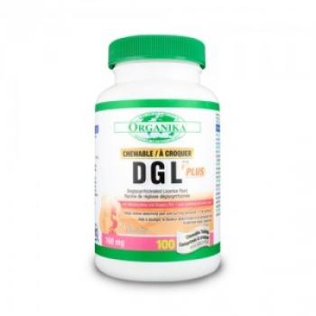 DGL 500 Plus - Pentru confortul stomacal - 100 tablete / Organika Health Products