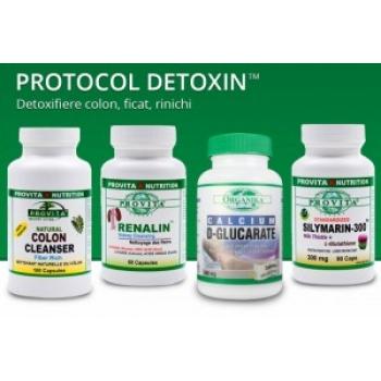 Protocol Detoxin de 30 zile: detoxifiere colon, ficat, rinichi / Provita