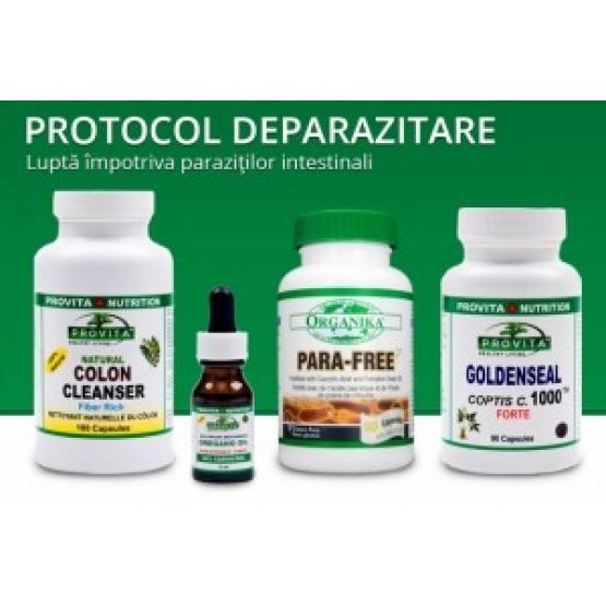 Protocol Deparazitare - Elimina parazitii intestinali / Provita